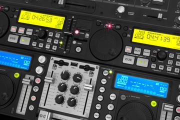 SD card DJ player