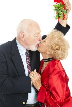 Seniors Under the Mistletoe