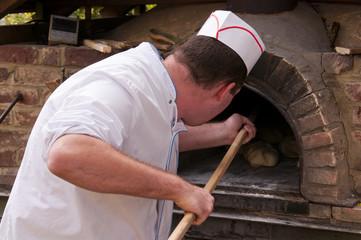 Miches de pain fabriquées à l'ancienne