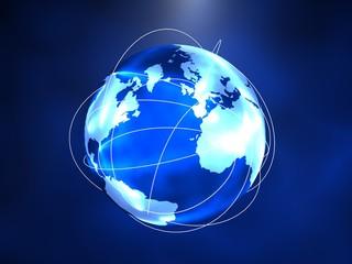 Globale-internet-verbindung