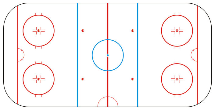 Texture for Ice hockey rink