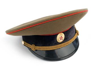 Soviet Army cap.