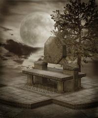 Fototapeta Gothic scenery 37 obraz