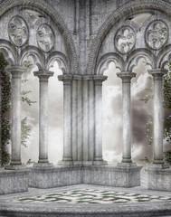 Fototapeta Gothic scenery 42 obraz