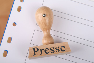 Stempel Presse