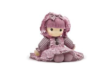 Pink soft doll