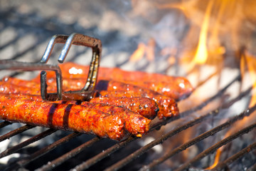 merguez sausage barbecue