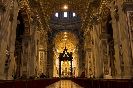 Vatican - inside view