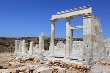 Temple de Déméter à Naxos - Cyclades - Grèce