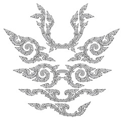 Chinese decoration vector