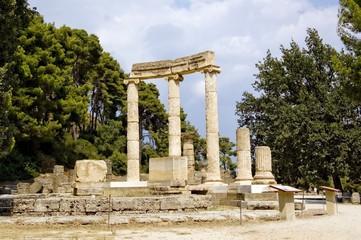 Grecia, gli scavi di Olimpia - 01