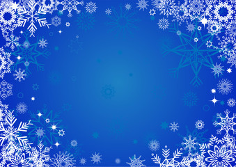Blue Cristmas background