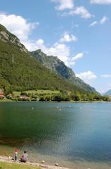 Fototapeta Giochi sul Lago d'Idro - Brescia obraz