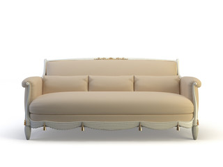 classic 3d sofa