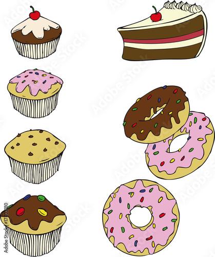Bakery Donut Cakes