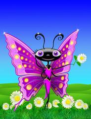 Farfalla Sexy-Sexy Butterfly-Papillon sexy-Cartoon-2