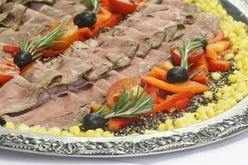 Roastbeef-Platte
