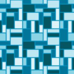 Seamless blue tile pattern