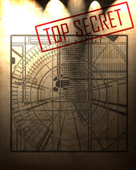 top secret blueprint