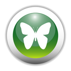 Butterfly Sign Button