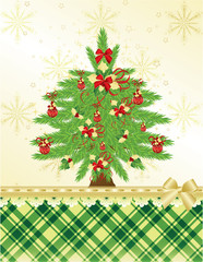 Christmas & New-Year's greeting card