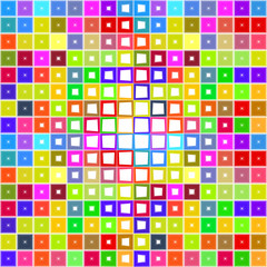 bright blocks pattern