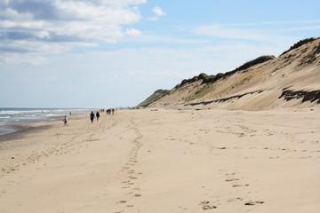 breiter Strand auf Cape Cod