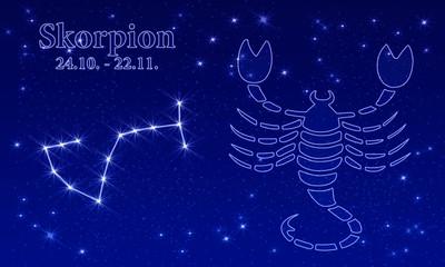 Tierkreiszeichen - Skorpion