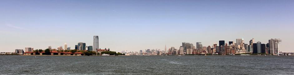 New York and Manhattan Panorama