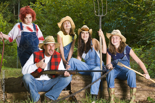 Quot Redneck Family Quot Stock Photo And Royalty Free Images On