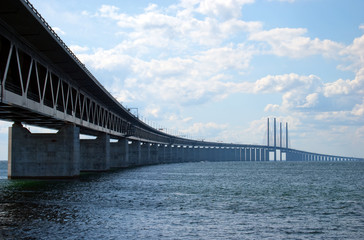 Oresundsbron from right side