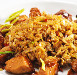 Thai Dishes - Pork with Rice