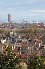 Lyon and roofs