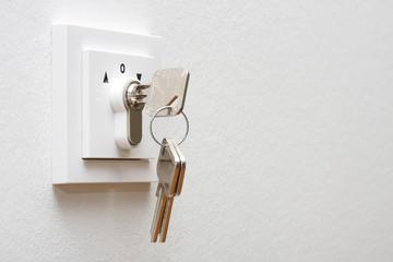 Schalter Schlüsselschalter