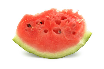 Slice of watermelon, isolated