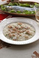 Risotto alla trota - Primi piatti del Trentino Alto Adige