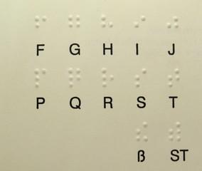 Brailleschriftzeichen