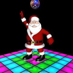 Santa Disco Dancing