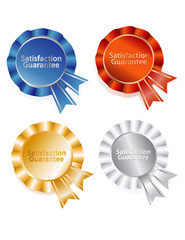 award certificate bows