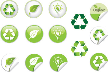recycle icon symbol button