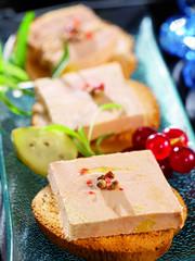 Recess Fitting Appetizer foie gras