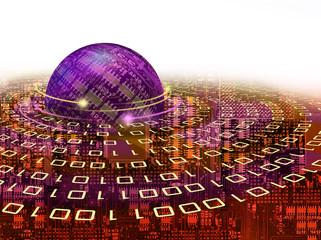 Binary coding planet