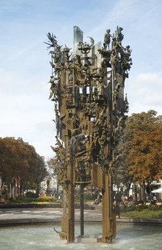 Mainz Fasnachtsbrunnen