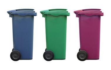 poubelle déchet ordure ménagère recyclage tri sélectif environne