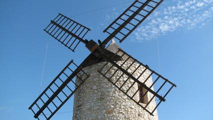 Foto auf Acrylglas Mühlen moulin de provence