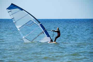 Rise of a sail