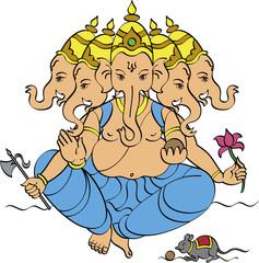 Ganesha Panchmukhi(5 head)