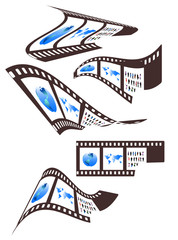 Illustration of films