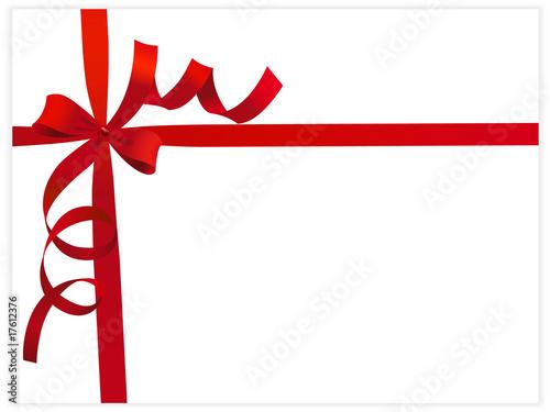 cadeau ruban rouge photo libre de droits sur la banque d 39 images image 17612376. Black Bedroom Furniture Sets. Home Design Ideas