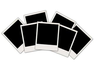 Blank Photos on White